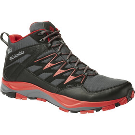 Columbia Wayfinder Mid Outdry Shoes Men Graphite/Steam